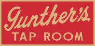 Gunthers Tap Room, Bar Northport NY Logo