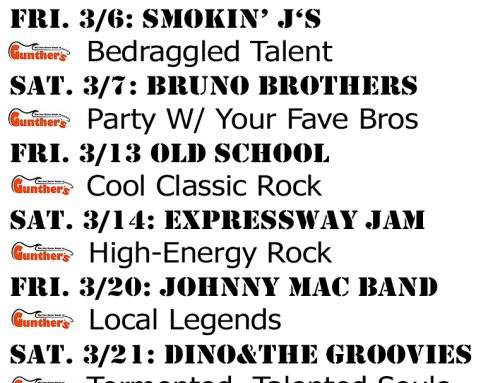 March 2020 Bands / Events